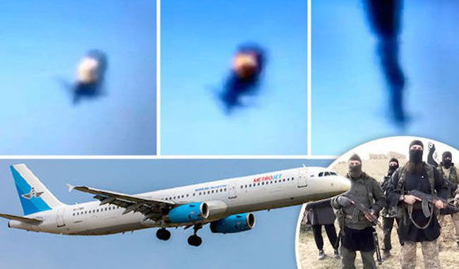 This video purports to prove that ISIS shot down the Russian plane over Egypt