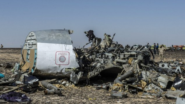 ISIS terrorists allegedly linked to the Sinai plane crash spoke with British accents