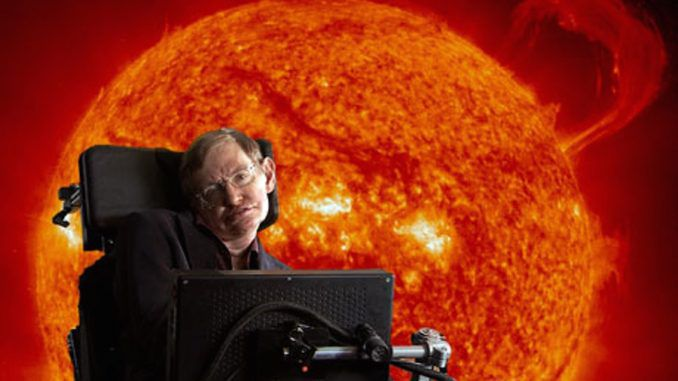 Stephen Hawking says that God does not exist