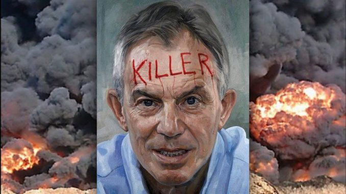 Tony blair ordered ministers to 'burn it' in regards to evidence that proved the Iraq war was illegal