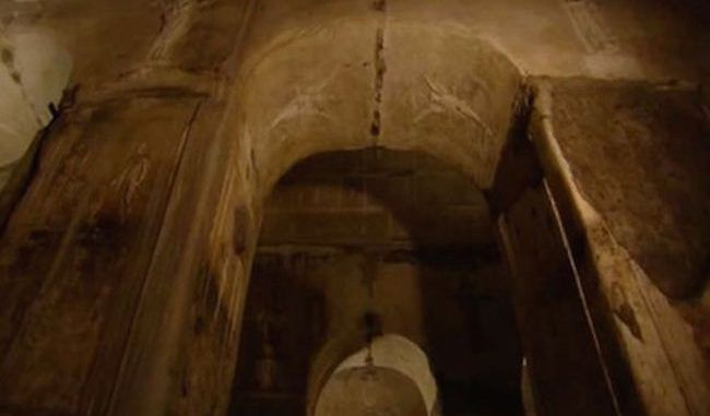 Discovered 40ft under ruins: Ancient 'black magic' pagan worship room built by an unknown mysterious cult