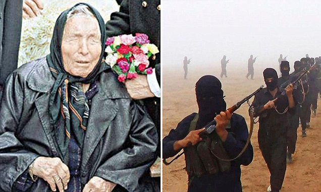 Blind prophet Baba Vanga makes chilling predictions for 2016 and beyond, including predicting that ISIS will conquer Europe by 2016, turning it into a wasteland