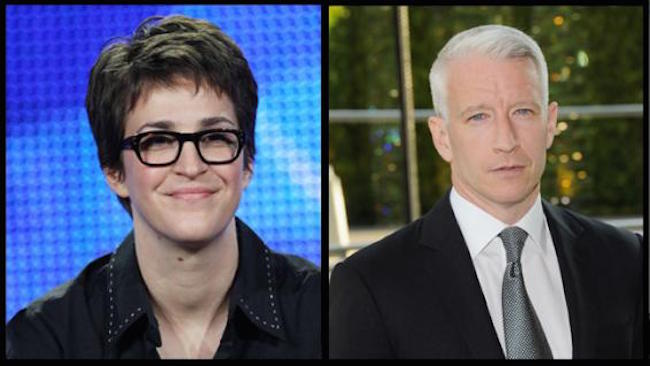 ISIS say they plan to kill CNN journalists Anderson Cooper and Rachel Maddow