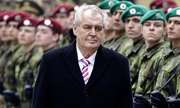 Czech leader says Europe migrant crisis is organised