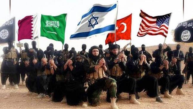 Israel created 'ISIS' back in 1990