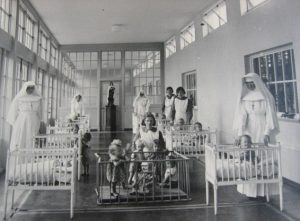 Nuns at Mother and baby home in Ireland