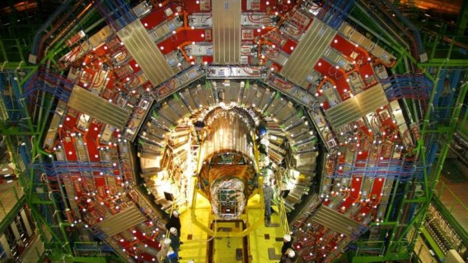 CERN may have found a new particle