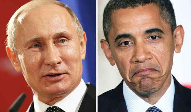 Obama surrenders ISIS fight, withdrawing troops and calling on Putin to help