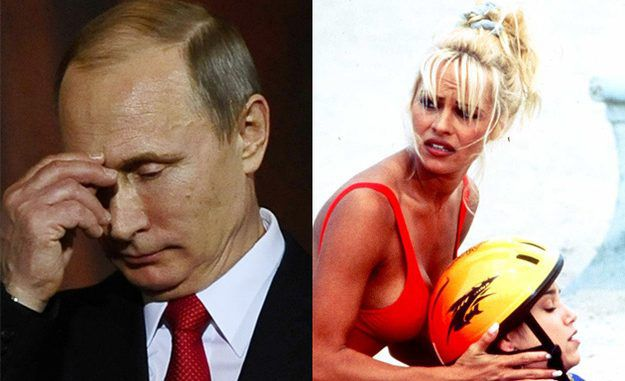 Pamela Anderson visits the Kremlin to meet with Putin's chief of staff