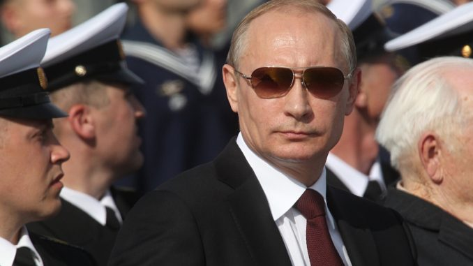 Vladimir Putin says he will destroy ISIS, even though he knows it is a U.S. creation