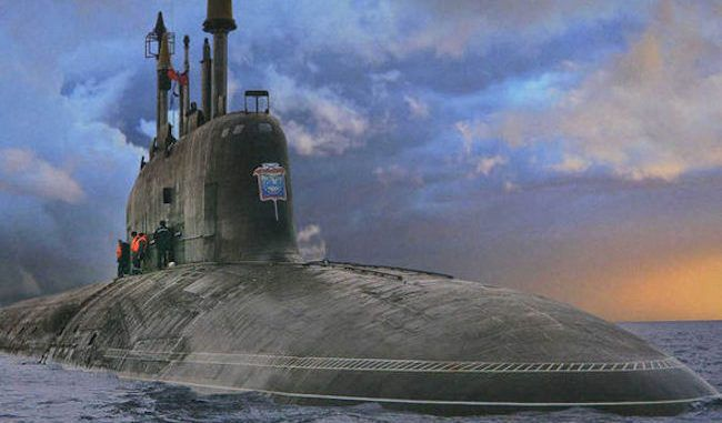 Russian President Vladimir Putin orders atomic weapons to be deployed to the Levant War Zone via the black hole submarine