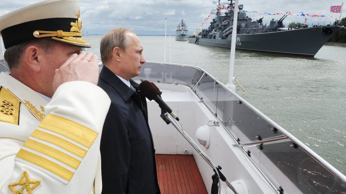 The Pentagon are worried about Russia's advanced Navy