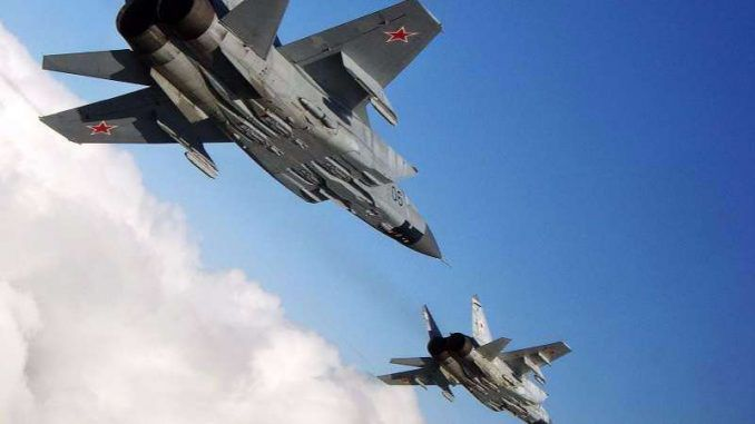 Four Russian fighter jets escort Syria's President Assad to Tehran