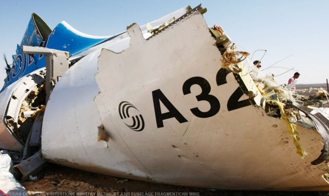 Egypt says that terrorists are not responsible for the Russian passenger plane crash over the Sinai