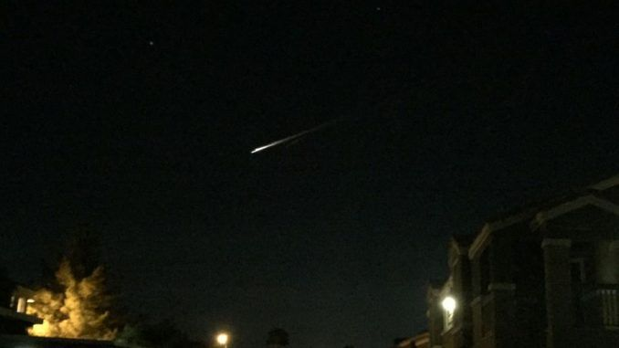 Russian rockets spotted flying over California and Nevada