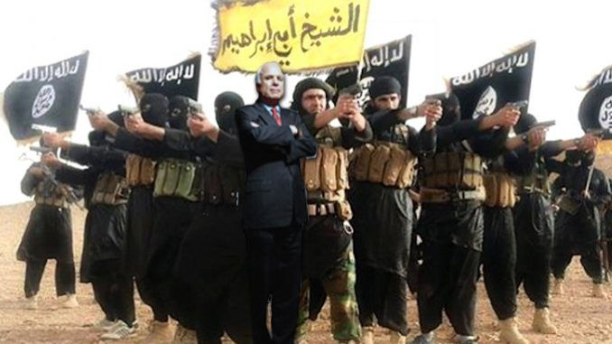Iraqi's say they believe the United States are in cahoots with ISIS