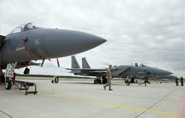 US F-15 aircraft leave Turkey for unknown reason