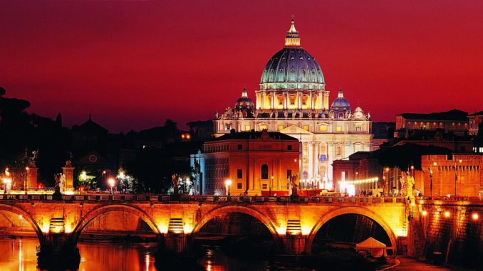 Vatican announce a special Christmas Eugenics themed light show
