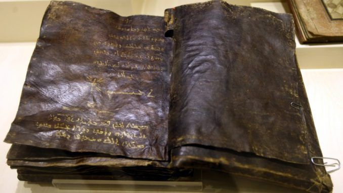 1,500 year old bible reveals that Christ was not crucified