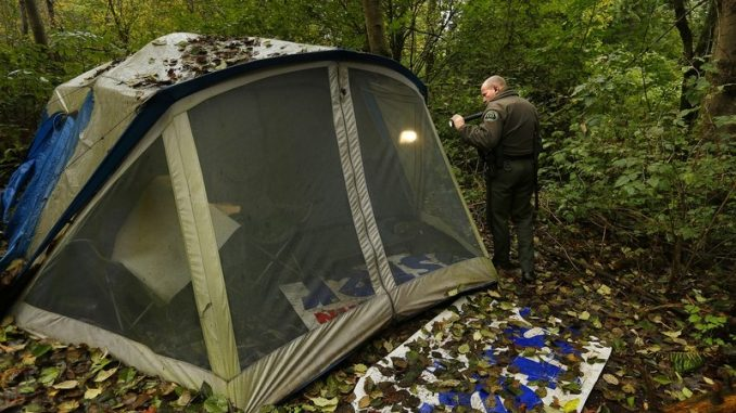 Camping in your own back yard is now deemed illegal