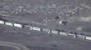 ISIS oil convoys