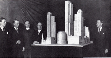 Fig. 10 The plan of the Rockefeller Center in 1931