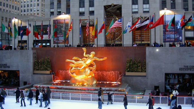 The meaning of the Rockefeller center
