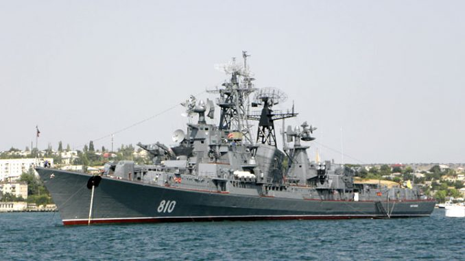 Russian Warship fires at Turkish vessel