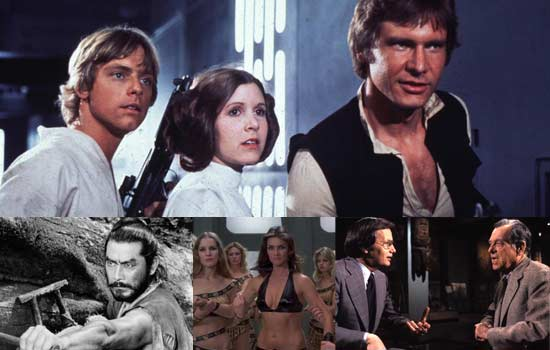 Star Wars and Hidden Fortress parallels
