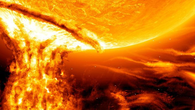 Our sun is capable of producing a superflare that will deliver an explosion equivalent to one billion megaton bomb