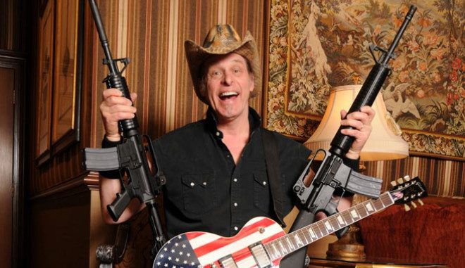 Ted Nugent calls on all conservative gun owners in America to 'cleanse' the US of liberals