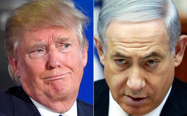 Donald Trump says that Israel are supporting ISIS