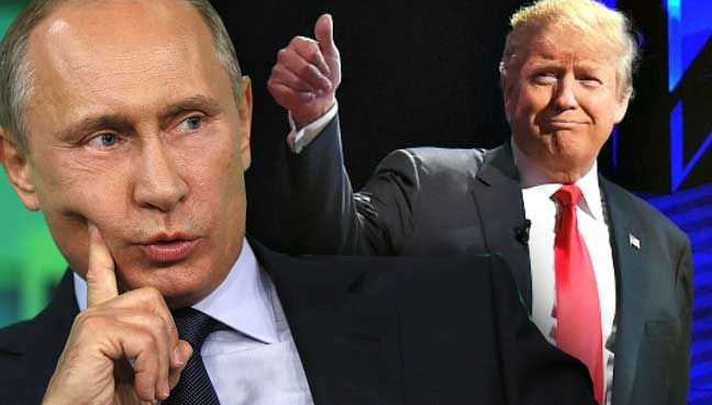 Donald Trump says the long-standing rumours that Putin killed journalists in Russia is false