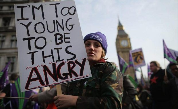 Young people who question the government should be considered 'extremists' officials say