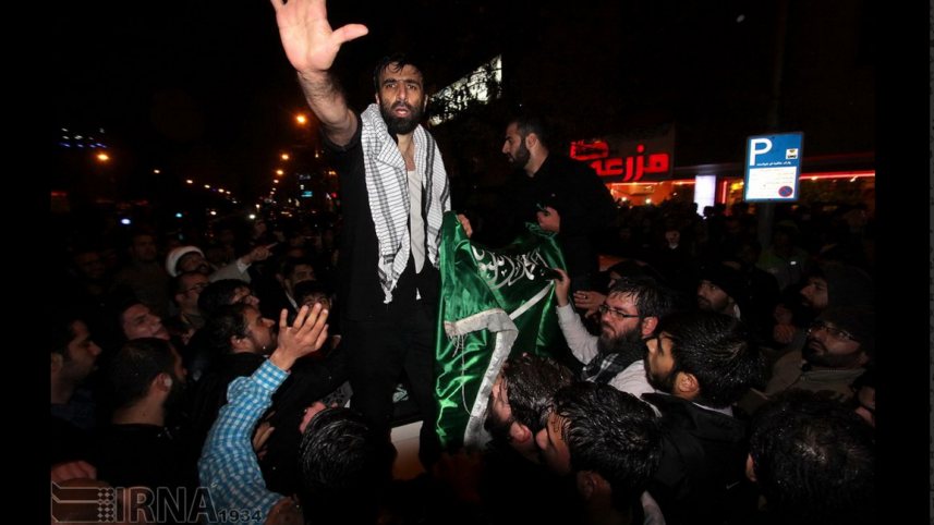 iranian protesters