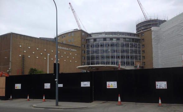 BBC TV Centre in London, now closed down for good