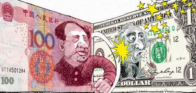 China orders its banks to drop the US dollar