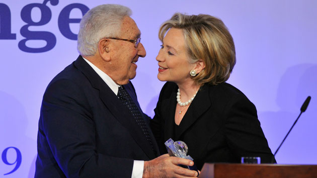 Leaked emails reveal close ties between Hillary Clinton and Henry Kissinger