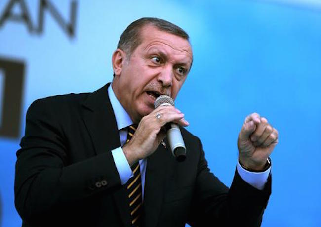 Turkish PM Erdogan turning Turkey into a police state