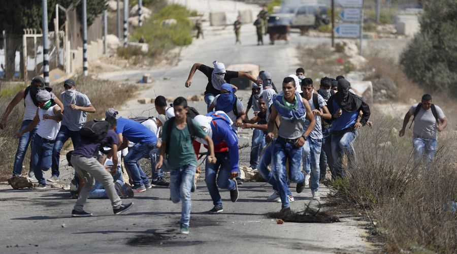 IDF soldiers were caught indiscriminately shooting at Palestinian protestors