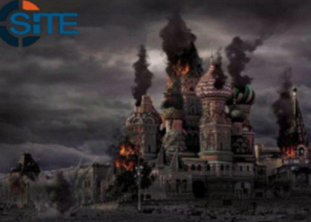ISIS say their next target is Moscow, Russia