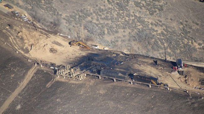 The california porter ranch gas leak has 'destabilized' say officials