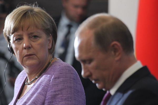 Merkel said to be frustrated at Putin for going rogue against the New World Order