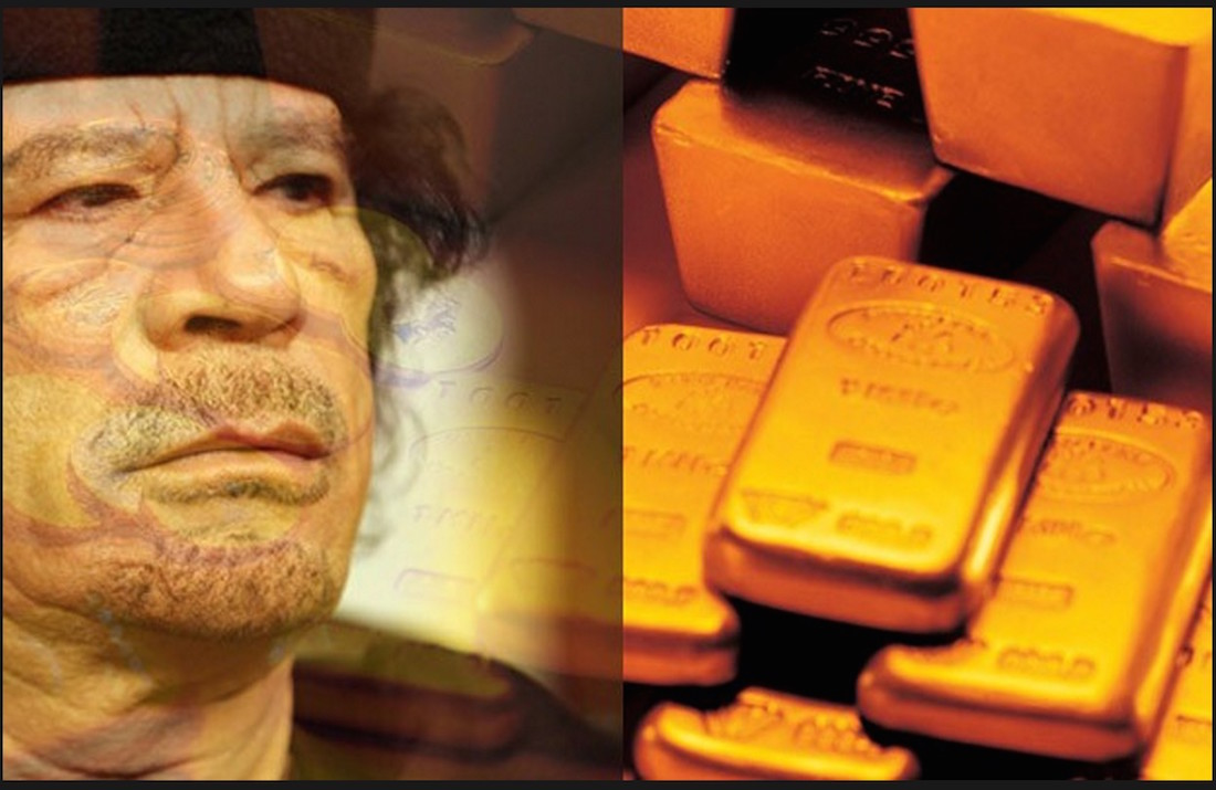 Hillary Clinton emails reveal that NATO were told to kill Gaddafi due to Libya's plans to create a gold-backed currency