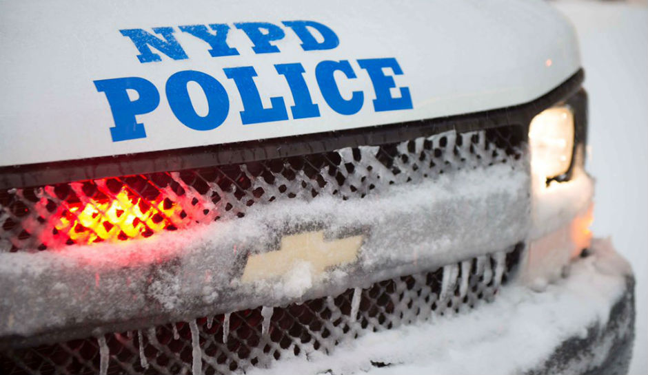 New York City temporarily declared martial law over the weekend, as police officials threatened to arrest anybody who was caught outside in the heavy snow storm that gripped the east coast of the United States.