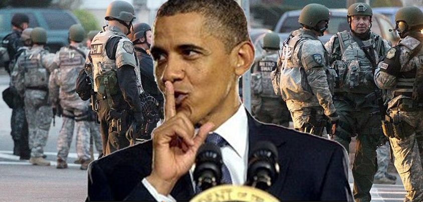 U.S. senate just approved martial law, granting President Obama unlimited military powers