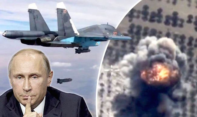 Russia destroys over 600 ISIS targets over the weekend