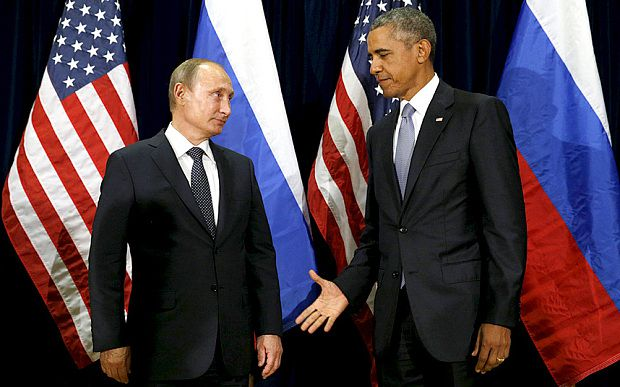 Putin winning geopolitical chess against Obama