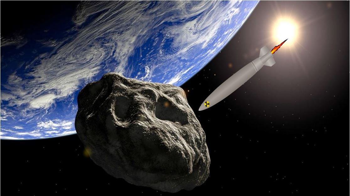 Russia have been asked to develop nuclear warheads to deal with incoming asteroids from space
