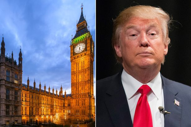 UK Parliament to debate whether Donald Trump should be banned from the UK later in January